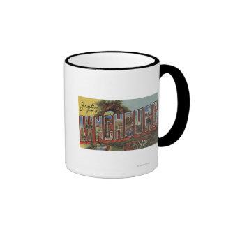 Lynchburg Virginia - escenas grandes de la letra Tazas De Café