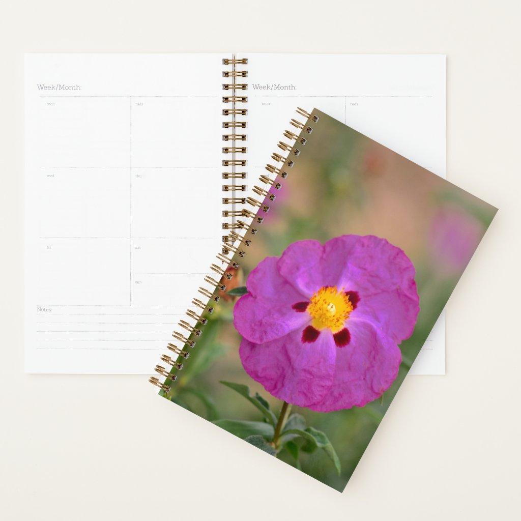 Lynda Anne Flower Logo Planner