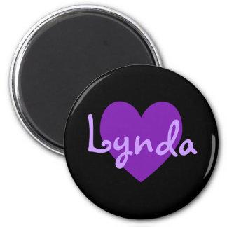 Lynda in Purple Magnet