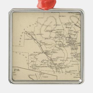 Lyndeborough, Hillsborough Co Metal Ornament