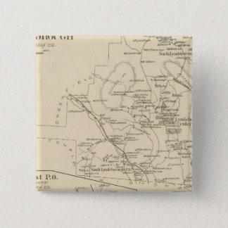 Lyndeborough, Hillsborough Co Pinback Button