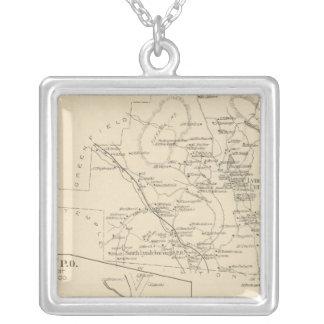 Lyndeborough, Hillsborough Co Silver Plated Necklace