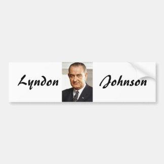 Lyndon B. Johnson 36 Car Bumper Sticker