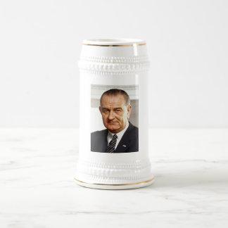 Lyndon B. Johnson 36 Jarra De Cerveza