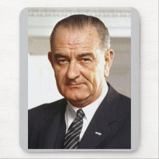 Lyndon B Johnson 36 Mousepad