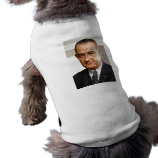 Lyndon B. Johnson 36 Playera Sin Mangas Para Perro