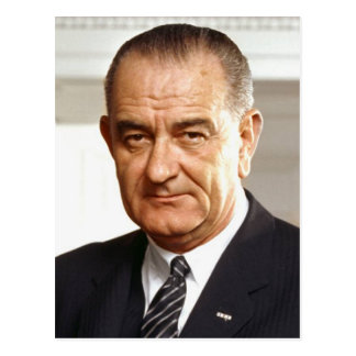 Lyndon B. Johnson 36 Postcard