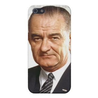 Lyndon B. Johnson 36th President Cover For iPhone SE/5/5s