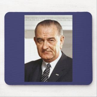 Lyndon B Johnson 36th President Mouse Pads