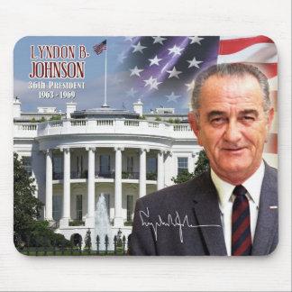 Lyndon B Johnson - 36th President of the U S Mouse Pads