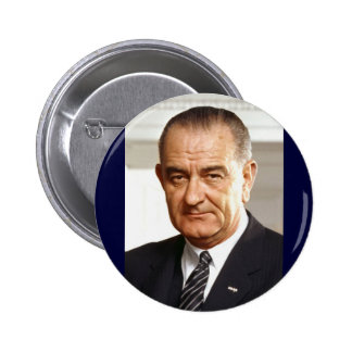 Lyndon B. Johnson 36th President Pinback Button