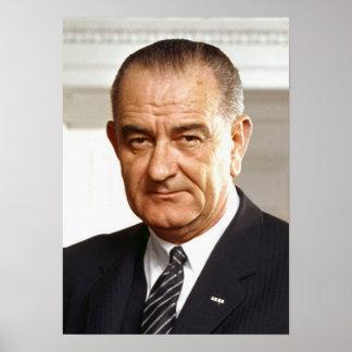 Lyndon B. Johnson 36th President Print