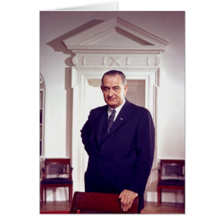 Lyndon B Johnson Card