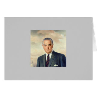 Lyndon B. Johnson Card