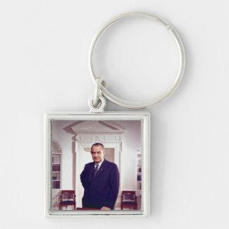 Lyndon B Johnson Keychain