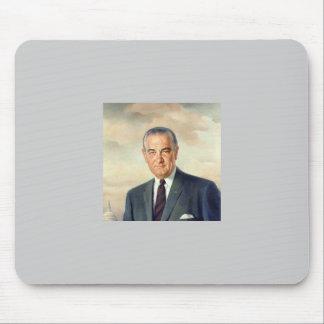 Lyndon B Johnson Mousepad