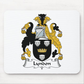 Lyndon Family Crest Mouse Pad