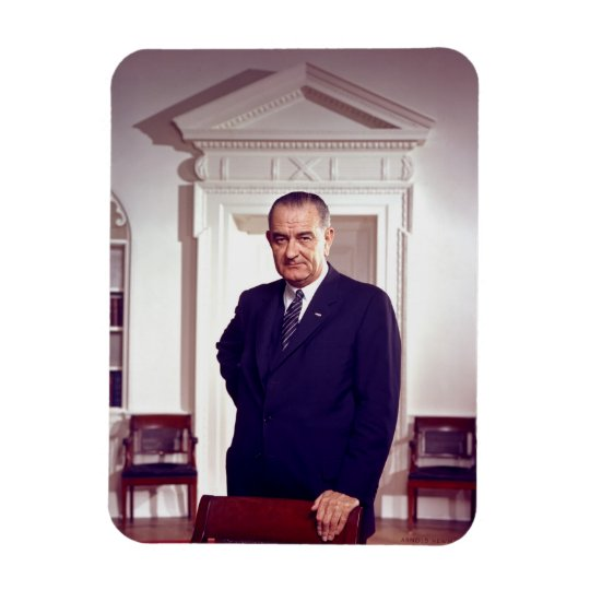 Lyndon Johnson Magnet