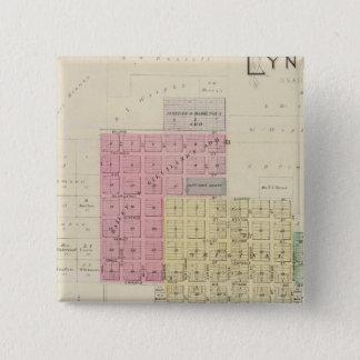 Lyndon, Osage County, Kansas Button