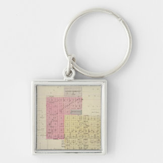 Lyndon, Osage County, Kansas Keychain