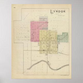 Lyndon, Osage County, Kansas Poster