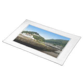 Lynmouth and Hills. Placemat