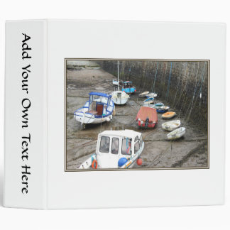 Lynmouth Harbor with Boats. Binder