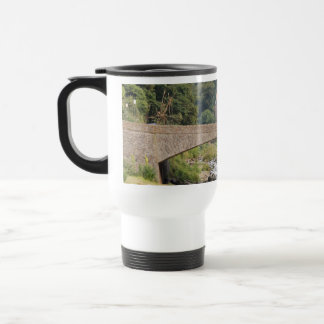Lynmouth in Devon, England. Travel Mug