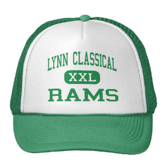 Lynn Classical - Rams - High - Lynn Massachusetts Trucker Hats