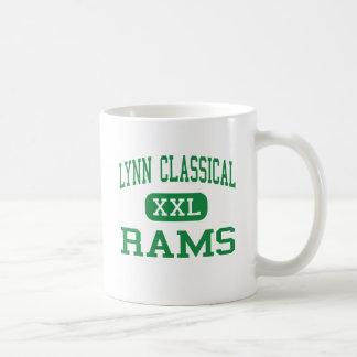 Lynn Classical - Rams - High - Lynn Massachusetts Classic White Coffee Mug