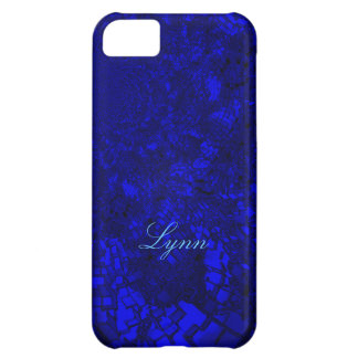 Lynn Fine Blue Tones iPhone case