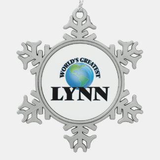 Lynn más grande del mundo adorno