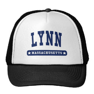 Lynn Massachusetts College Style tee shirts Mesh Hats