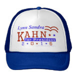 Lynn S Kahn President 2016 Election Independent Trucker Hat