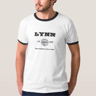 "Lynn: ""The Original City of Sin"" T-Shirt"