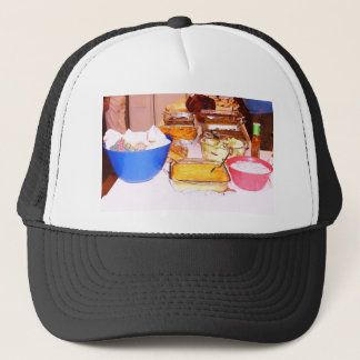 lynnfood.JPG picture food  for kitchen or business Trucker Hat