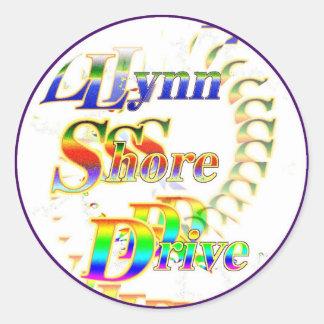 LynnShoreDrive Classic Round Sticker