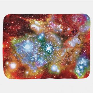 Lynx Arc Starbirth Star Cluster Artist Impression Stroller Blanket