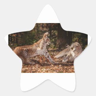 Lynx Attacks Stickers