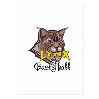 LYNX BASKETBALL POSTCARD