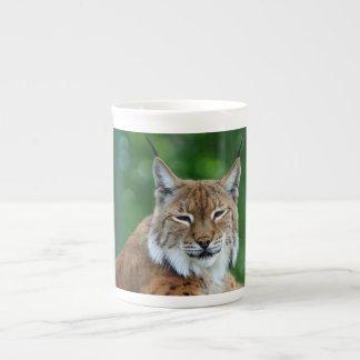 Lynx, bobcat beautiful photo bone china mug