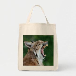 Lynx, bobcat beautiful shopping tote bag