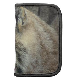 Lynx Cat  Wallet Folio Organizers
