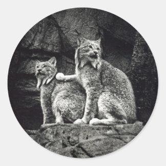 Lynx Classic Round Sticker