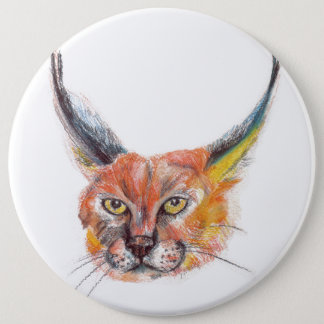 Lynx Colossal Pinback Button