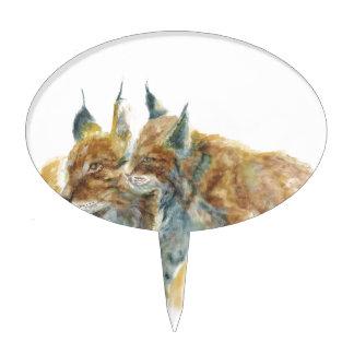 Lynx design by J.M.Jonsson Cake Topper