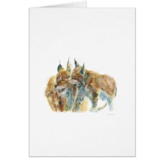 Lynx design by J.M.Jonsson Card