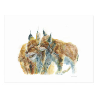 Lynx design by J.M.Jonsson Postcard