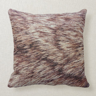 Lynx fur pillows