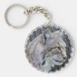 Lynx Keychain